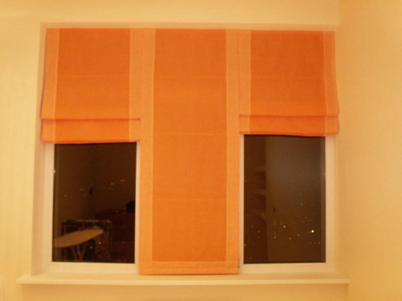 Римские шторы.  Внутренний декор.