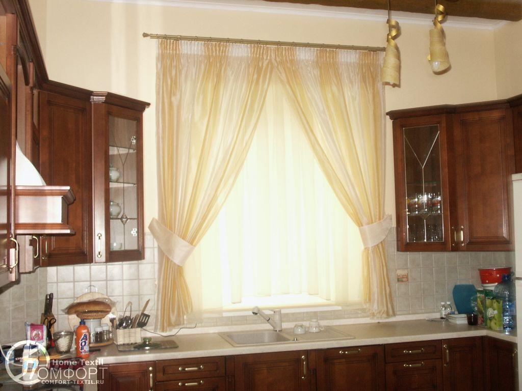 Описание занавески на кухню фото